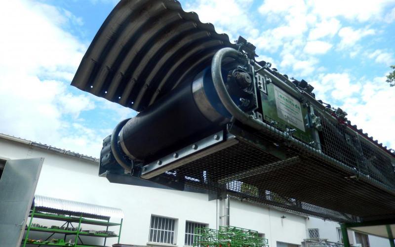 Convoyeur sauterelle Manubloc de Tecnitude